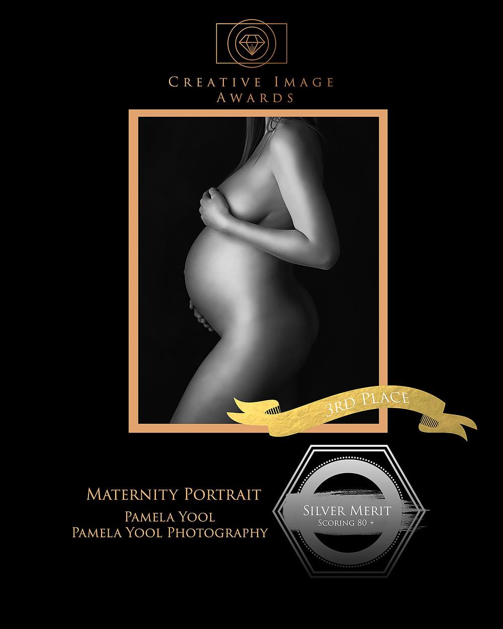Maternity Portrait Award Winning Image - Pamela Yool Photography