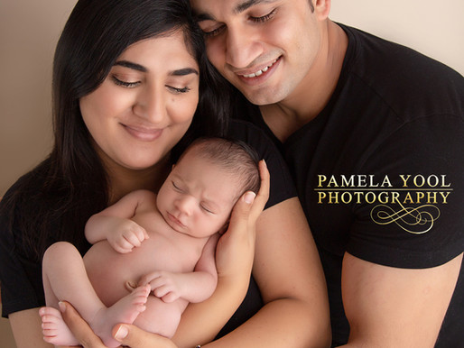 Newborn Baby Lisa | Pamela Yool Photography