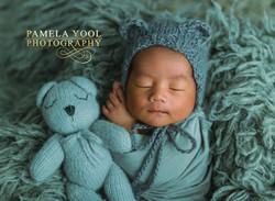 Baby Bear Newborn Photography