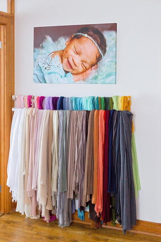 Newborn Photography Studio Wraps
