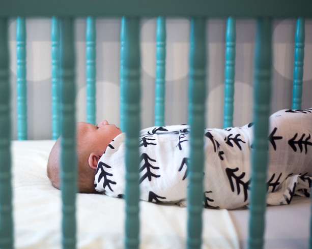 Newborn in-home lifestyle photography session