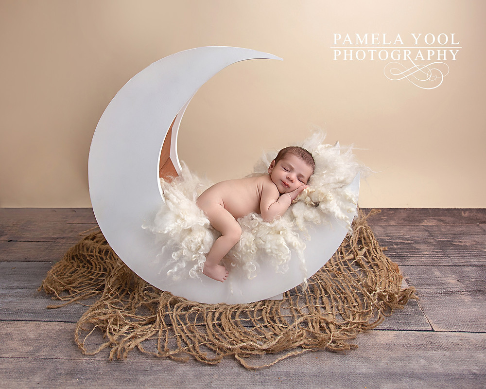 Newborn Moon Portrait Toronto