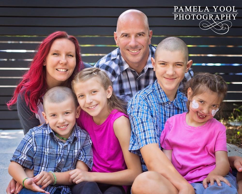 Ronald McDonald House Family Portrait