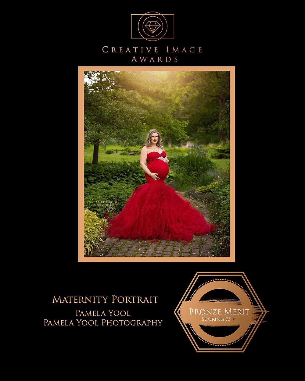 Maternity Award Winning Image - Pamela Yool Photography
