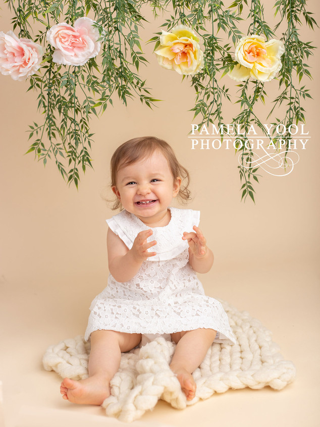 First Birthday Studio Portraits Boho Theme 2