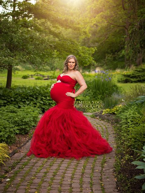 Glam Maternity Photography Toronto