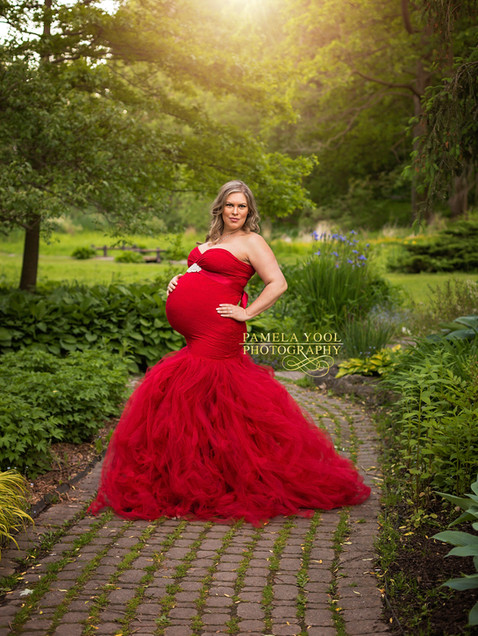 Glam Maternity Photography Toronto