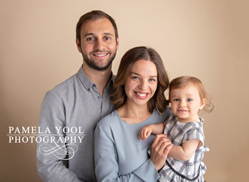 First Birthday Family Portraits