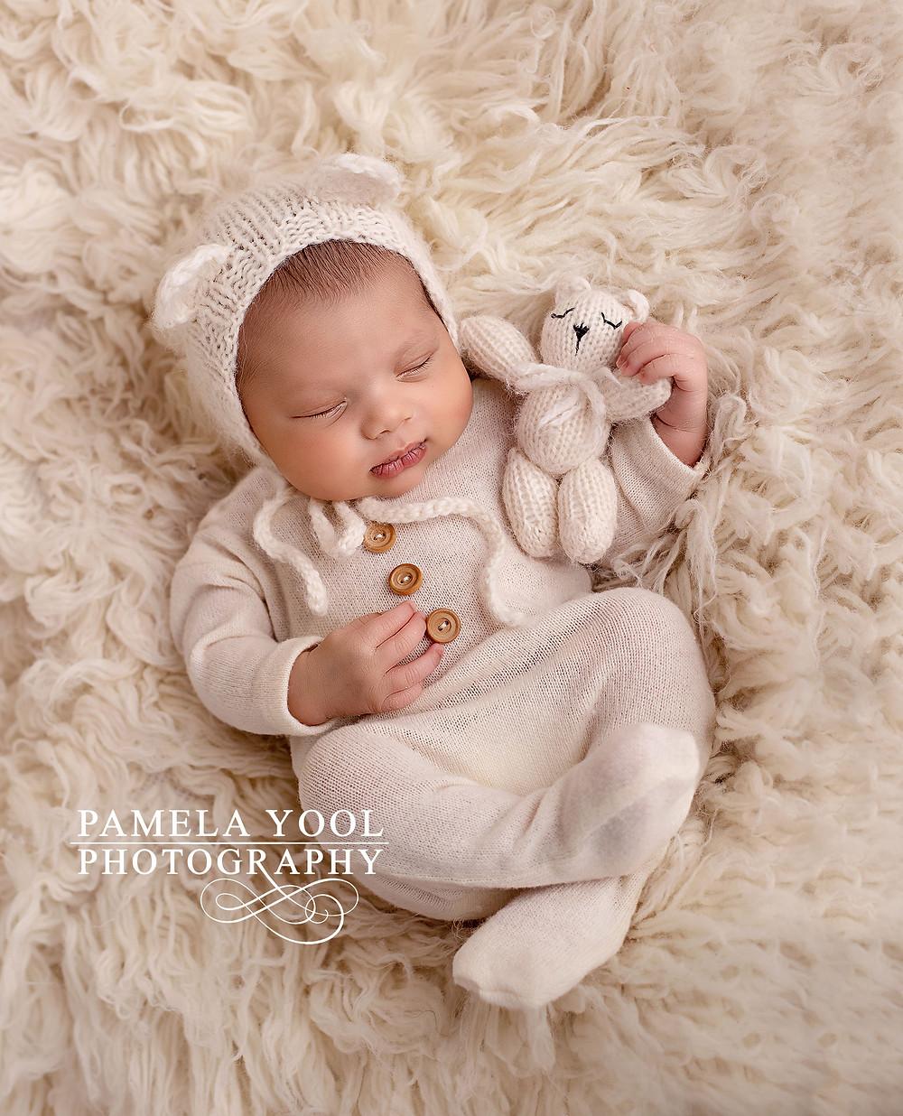 Newborn Baby Bear Photo