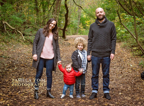 Fall Family Photography Toronto in High Park