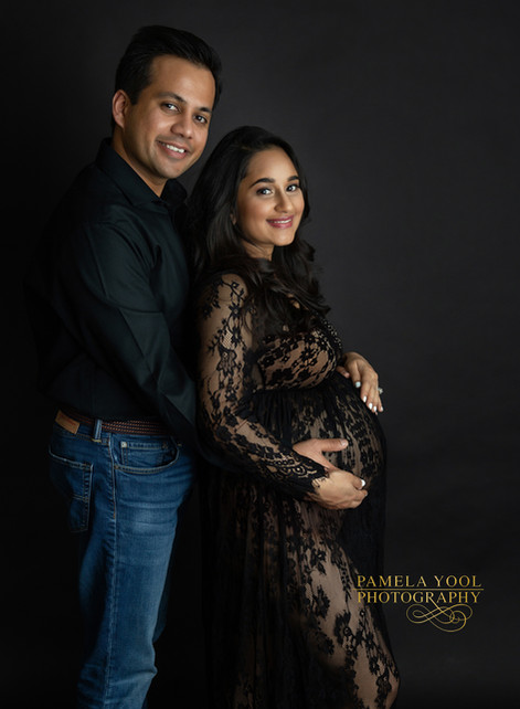 Husband and Wife expecting photo