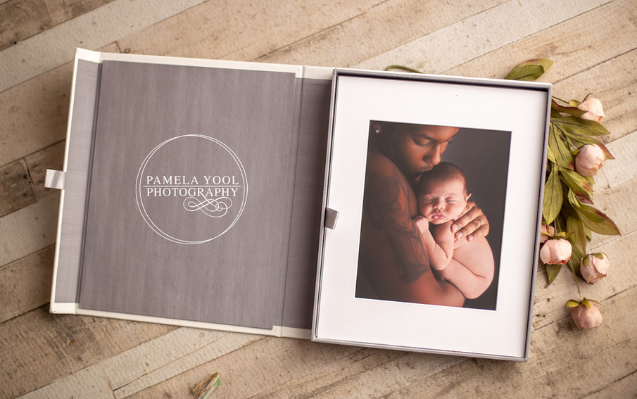 Presentation Box with Matted Prints