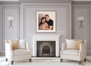 LivingRoom Family Portrait