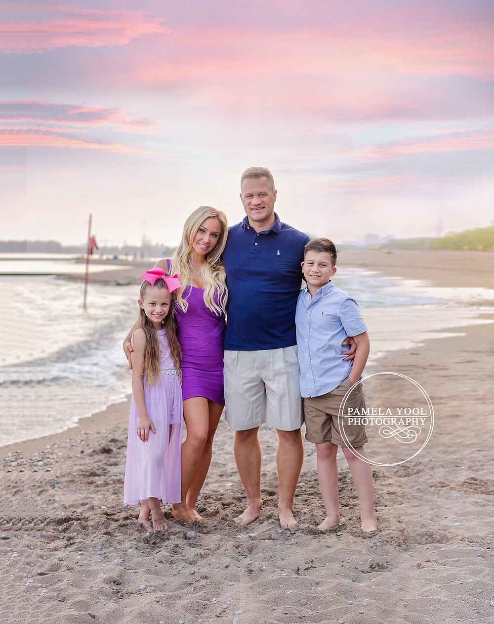 Toronto Beach Family Photoshoot