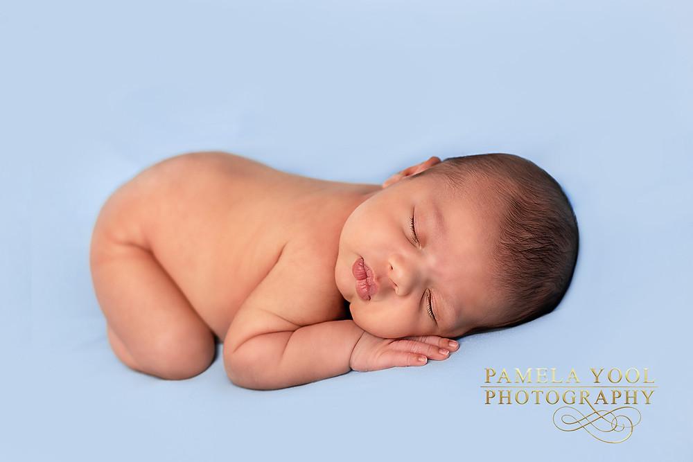 Newborn Photography Bum-up pose