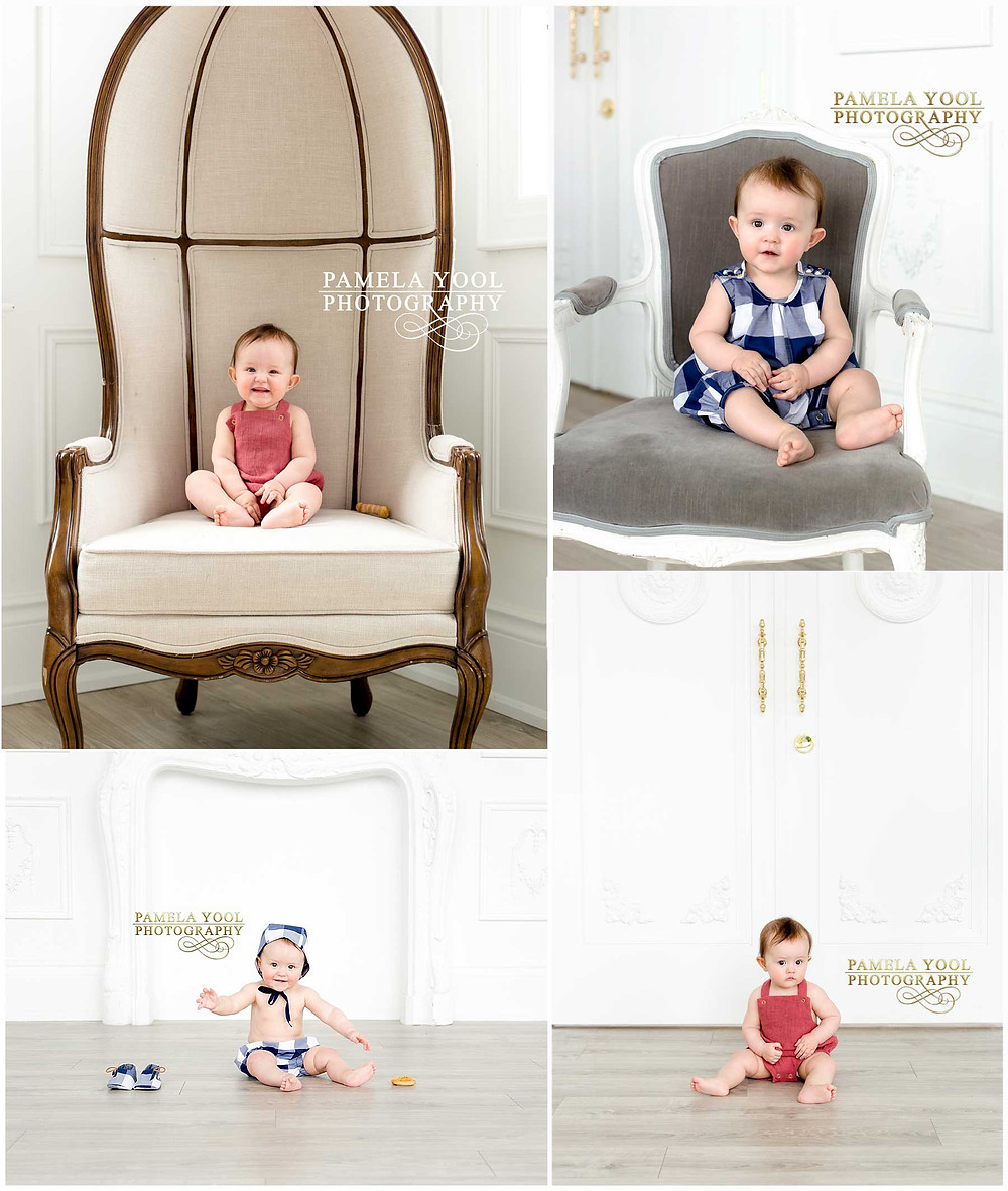Child Portraits by Pamela Yool Photography - Canadian Baby Wear Company Petits Genoux Collaboration wth Hastens