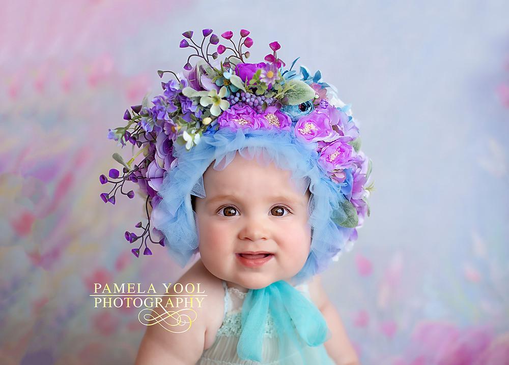 Floral Bonnet Photography Toronto Canada