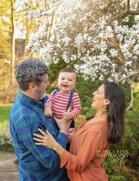 Outdoor Family Portraits Toronto Park FB