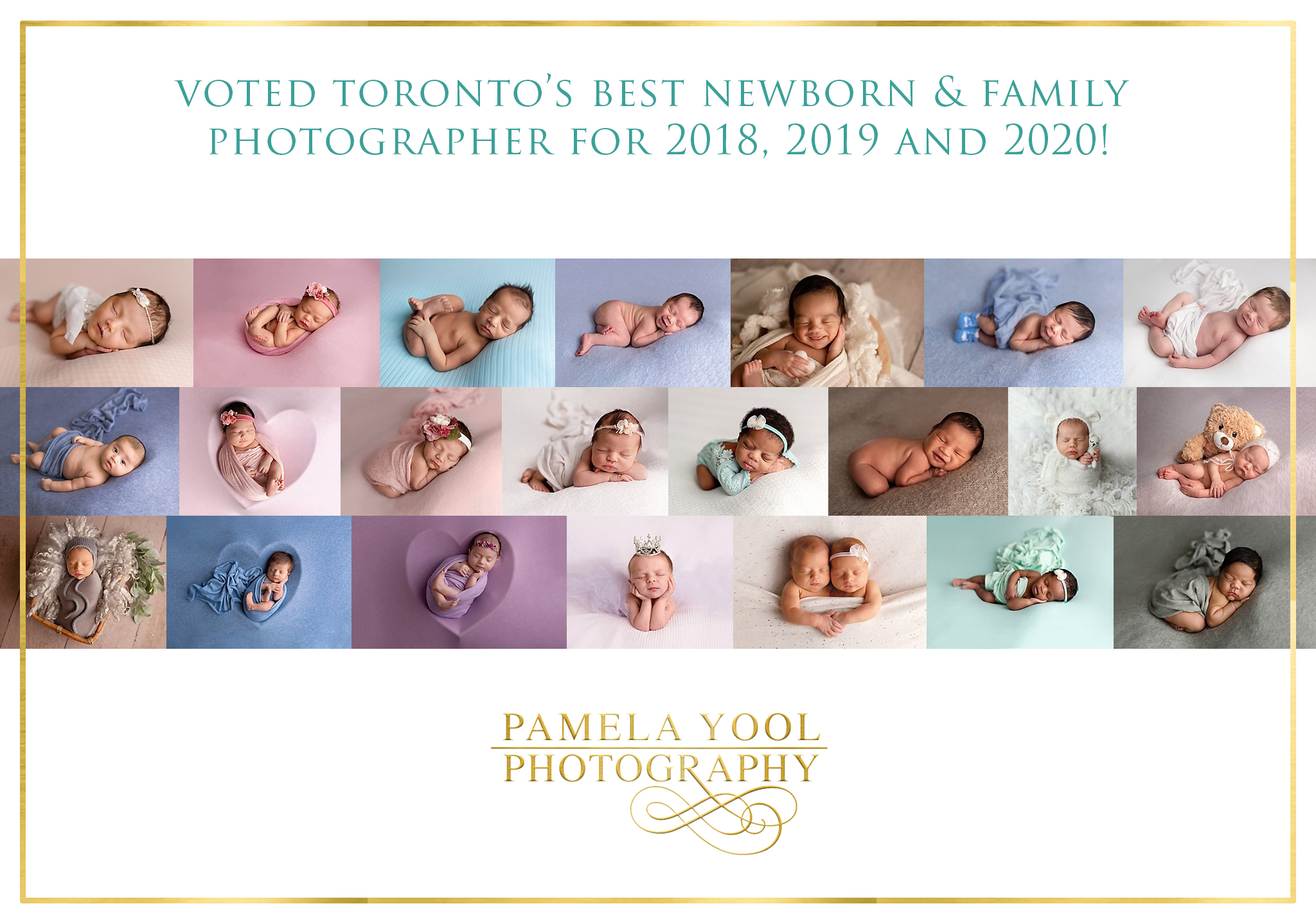 Voted Best Newborn Photographer