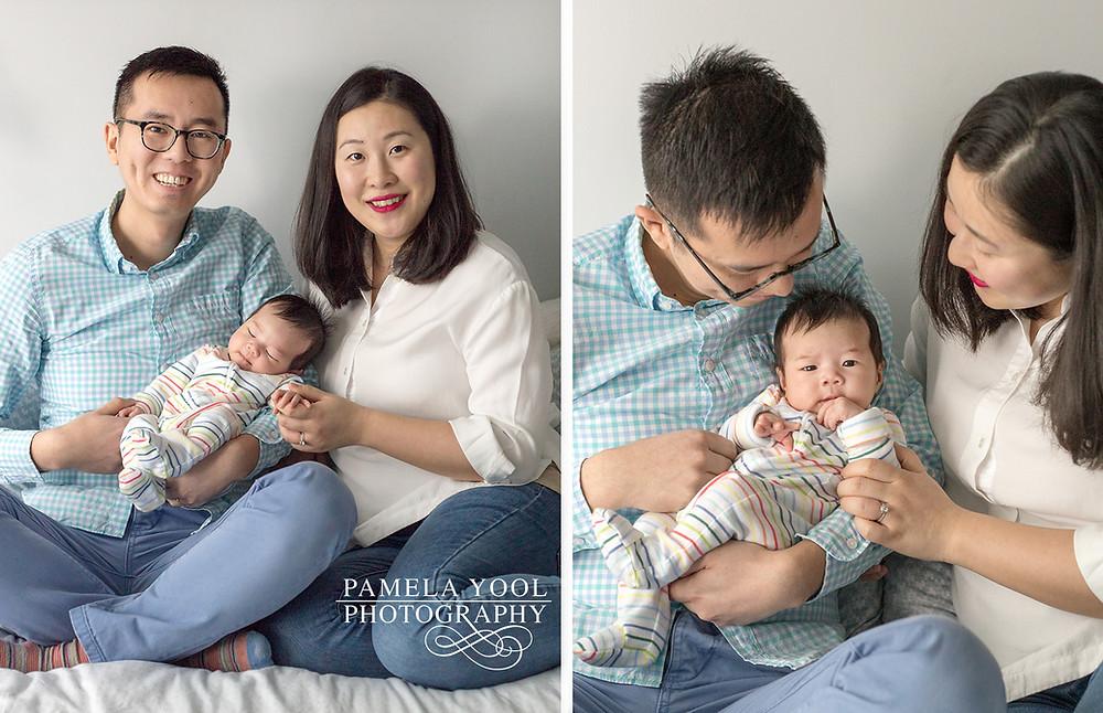 Lifestyle newborn photography Toronto