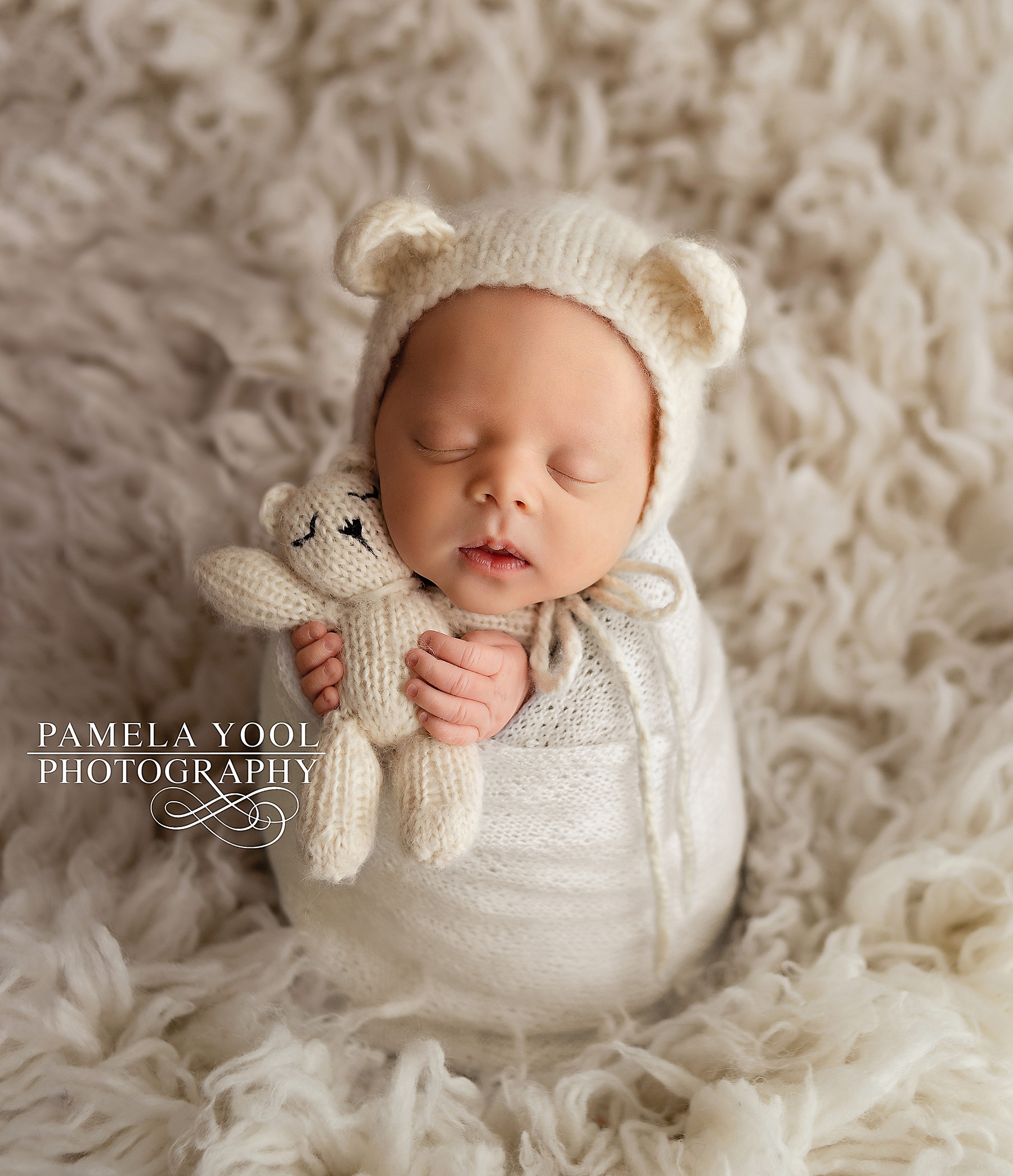 Newborn Baby Bear Photography