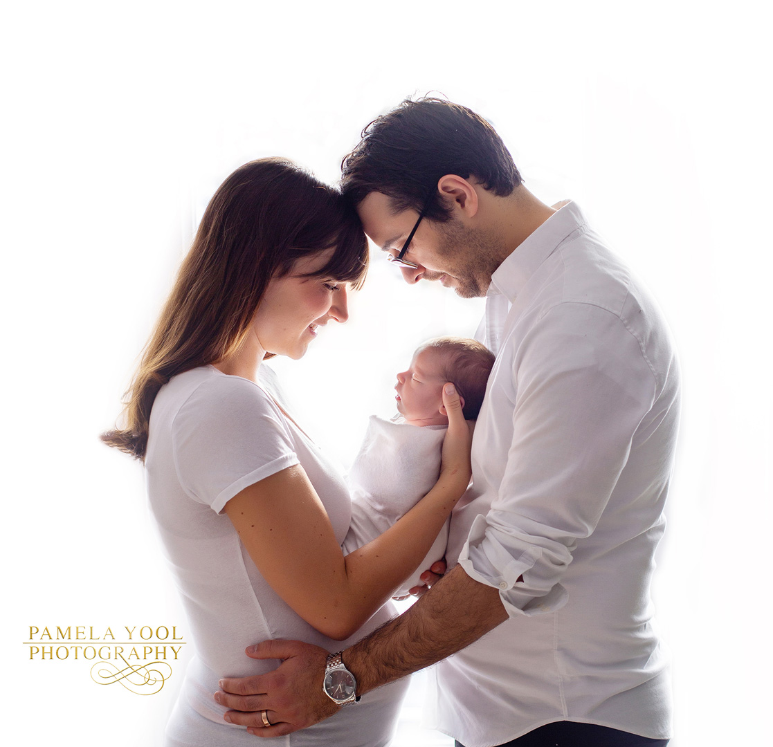 Newborn and Family Fine Art Portrait
