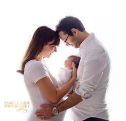 Newborn and Family Fine Art Portrait