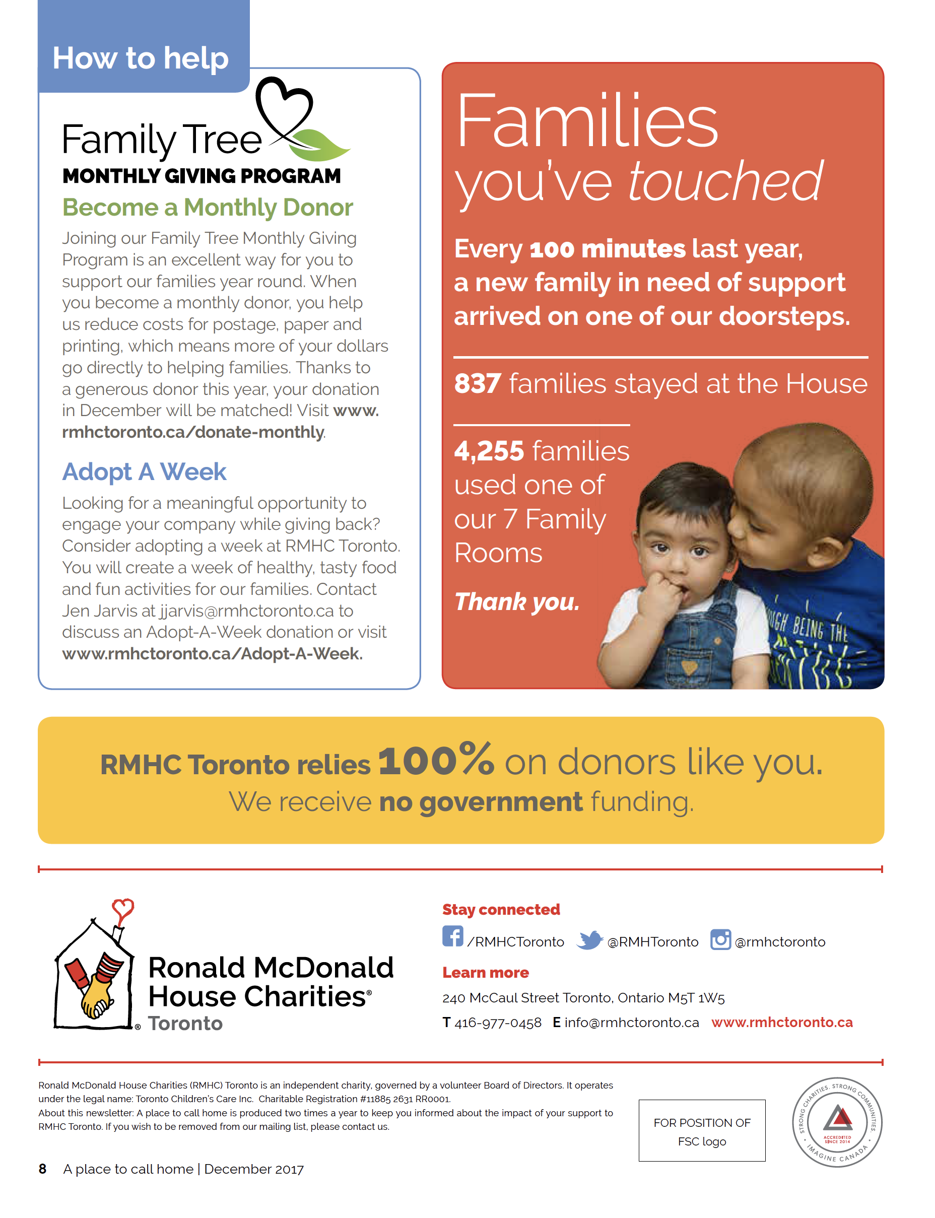 Ronald McDonald House Family Photogr