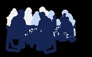 silhouette-meeting-lunch-breakroom-talk-