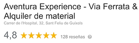 reseñas google aventura experience.png
