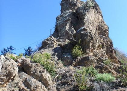 Via ferrata roca de la creu