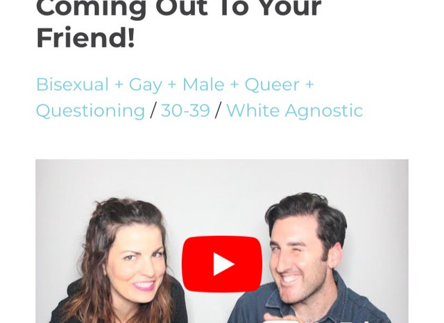 Coming Out Feature