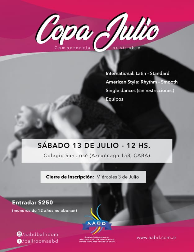 Copa Julio! - 4ta Competencia Puntuable