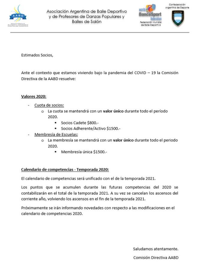 Comunicado Abril 2020 - COVID-19