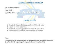Asamblea General / Elección de autoridades