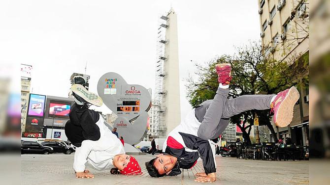 Entrevista a los representantes Argentinos en Baile Deportivo - Break Dance