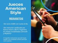 Curso Jueces - American Style