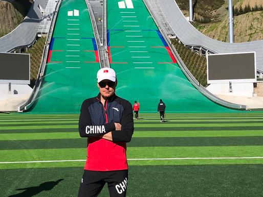 """Kiinan suomalainen hiihtovalmentaja """"maailman parhaat olosuhteet"""""""