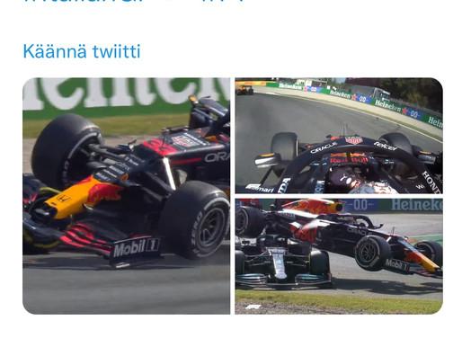 Halo pelasti Hamiltonin hengen Monzassa