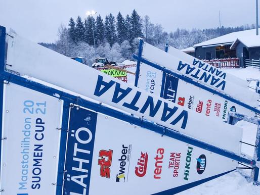 Kolmelta suomalaiselta vahva näyttö lumimyrskyssä