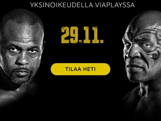 Tyson laihdutti 50 kiloa- voita katseluoikeus