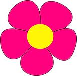 Simple Flower Clipart 03.png