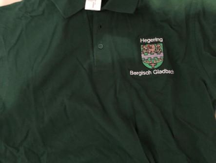 Poloshirts für Helfer der rollenden Waldschule