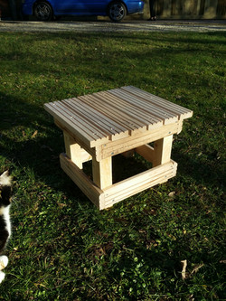 Beechwood stool
