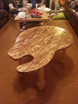 Guitar Shaped Coffee Table