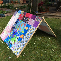 Childrens' Patchwork Play Tent