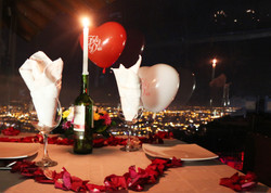 mesa romantica
