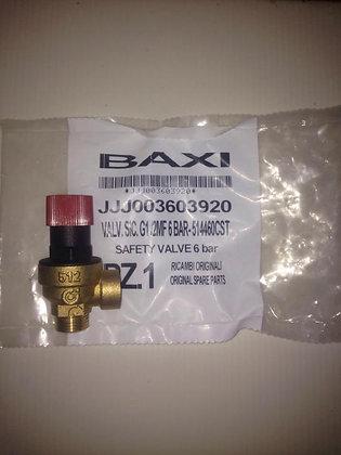 Baxi Slim сбросной клапан 6 bar 3603920
