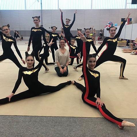 Notre group de gymnastique esthétique av