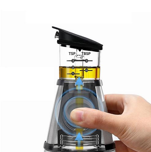 בקבוקון שמן חכם - עם מיכל מדידה